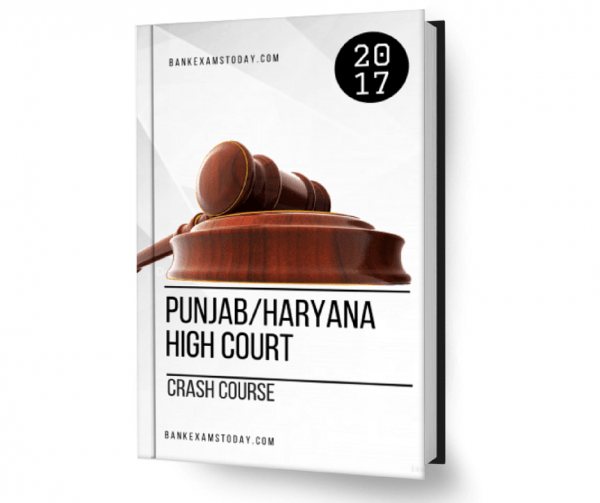 Punjab Haryana High Court Crash Course